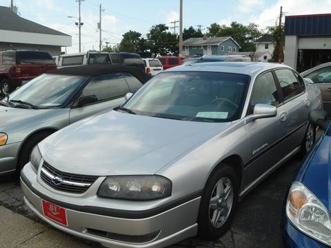 2003 Chevrolet Impala for sale at G T Motorsports in Racine WI