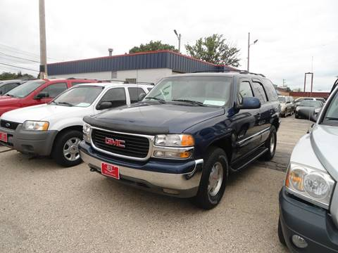 2001 GMC Yukon for sale at G T Motorsports in Racine WI