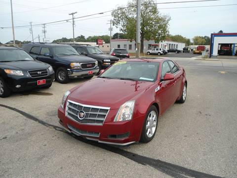 2008 Cadillac CTS for sale at G T Motorsports in Racine WI