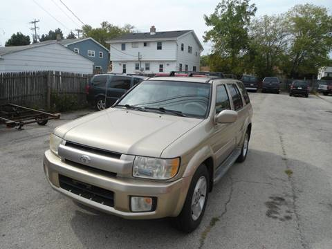 2003 Infiniti QX4 for sale at G T Motorsports in Racine WI