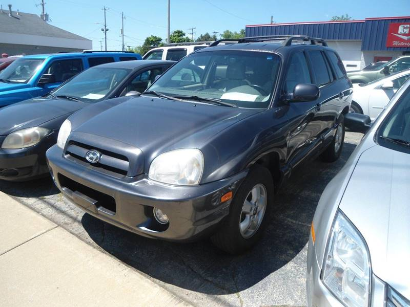 2005 Hyundai Santa Fe For Sale At G T Motorsports In Racine WI