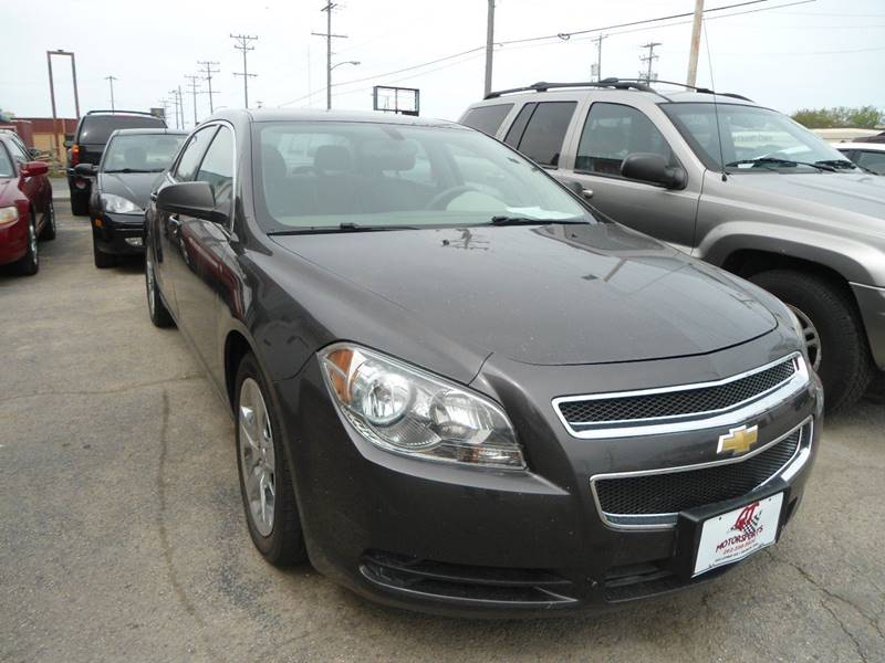 2012 Chevrolet Malibu for sale at G T Motorsports in Racine WI
