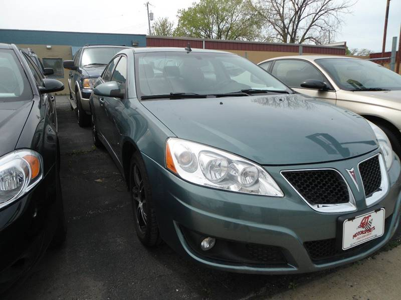 2009 Pontiac G6 for sale at G T Motorsports in Racine WI