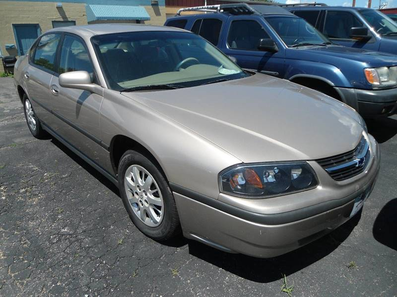 2001 Chevrolet Impala for sale at G T Motorsports in Racine WI