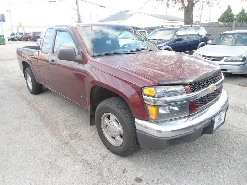 2007 Chevrolet Colorado for sale at G T Motorsports in Racine WI