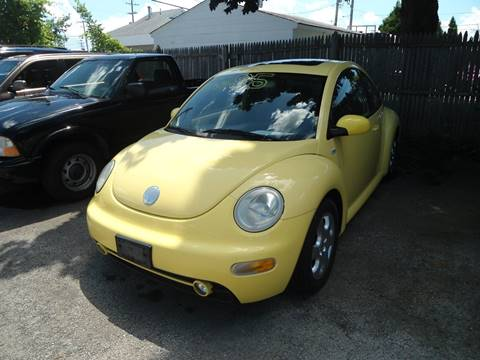 2003 Volkswagen New Beetle for sale at G T Motorsports in Racine WI