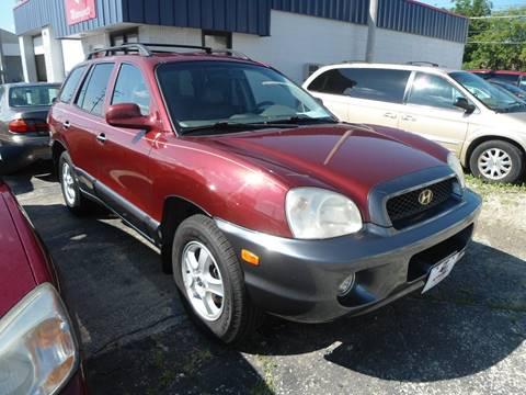 2001 Hyundai Santa Fe for sale at G T Motorsports in Racine WI