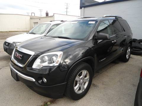 2008 GMC Acadia for sale at G T Motorsports in Racine WI