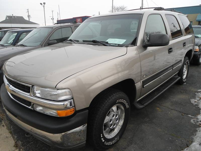 2001 Chevrolet Tahoe for sale at G T Motorsports in Racine WI