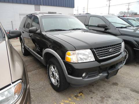 2002 Ford Explorer for sale at G T Motorsports in Racine WI
