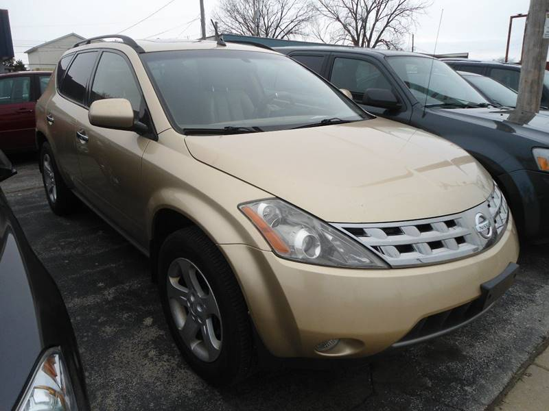 2004 Nissan Murano for sale at G T Motorsports in Racine WI