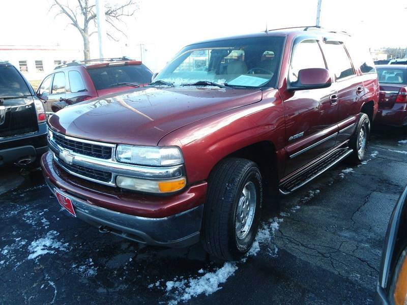 2002 Chevrolet Tahoe for sale at G T Motorsports in Racine WI
