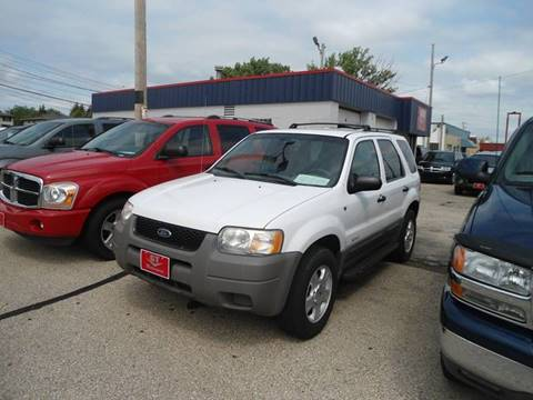 2002 Ford Escape for sale at G T Motorsports in Racine WI