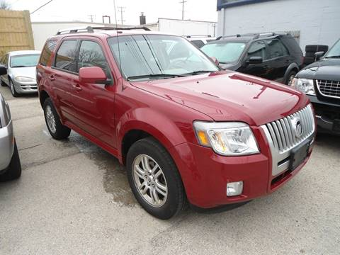 2010 Mercury Mariner for sale at G T Motorsports in Racine WI