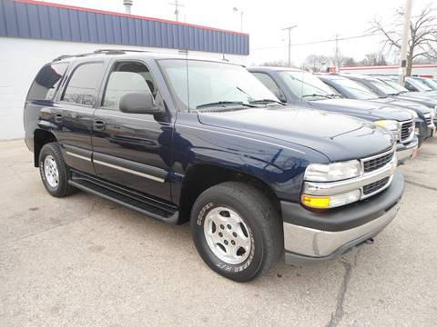 2005 Chevrolet Tahoe for sale at G T Motorsports in Racine WI