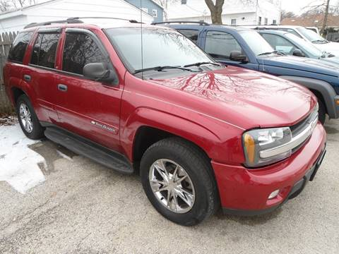 2003 Chevrolet TrailBlazer for sale at G T Motorsports in Racine WI