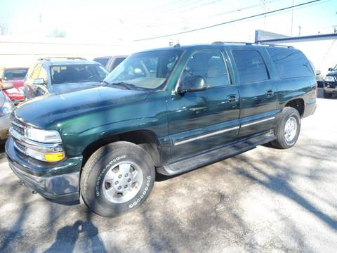 2003 Chevrolet Suburban for sale at G T Motorsports in Racine WI