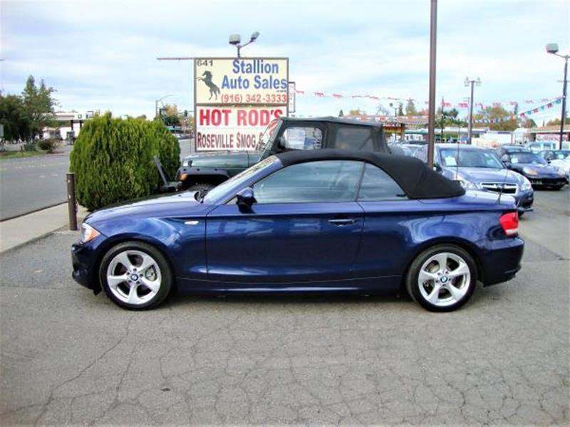 Bmw Series I Dr Convertible SULEV In Roseville CA - 2012 bmw 128i convertible