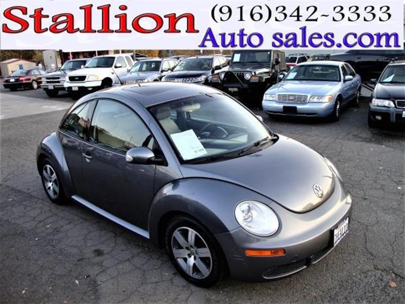volkswagen  beetle tdi dr coupe wmanual  roseville ca stallion auto sales llc