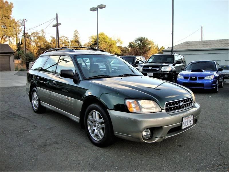 2003 Subaru Outback Awd 4dr Wagon In Roseville Ca Stallion Auto