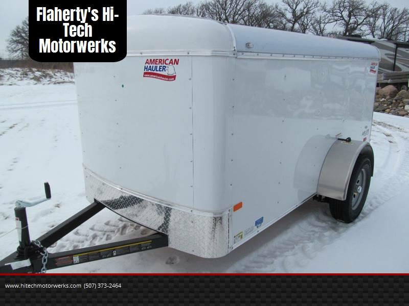 2018 american hauler 5x10 cargo in albert lea mn flaherty 39 s hi tech motorwerks. Black Bedroom Furniture Sets. Home Design Ideas