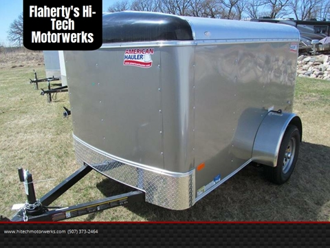2018 American Hauler ALC58SA for sale at Flaherty's Hi-Tech Motorwerks in Albert Lea MN