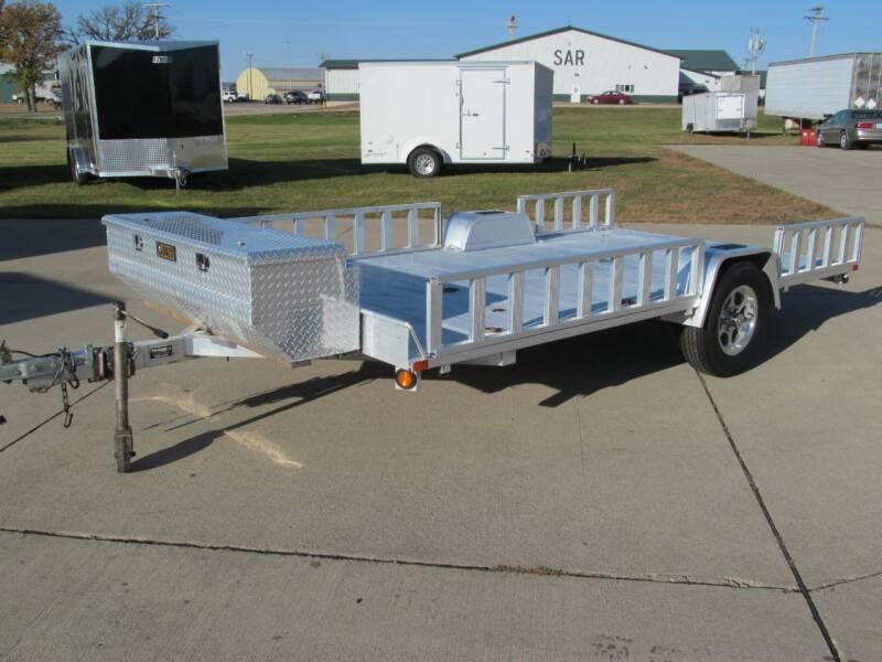2012 Aluma 12' UTILITY/ATV HAULER for sale at Flaherty's Hi-Tech Motorwerks in Albert Lea MN