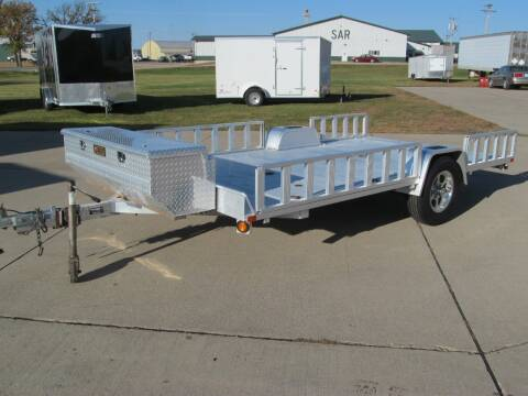 2012 Aluma 12' UTILITY/ATV HAULER for sale at Flaherty's Hi-Tech Motorwerks in Albert Lea MN