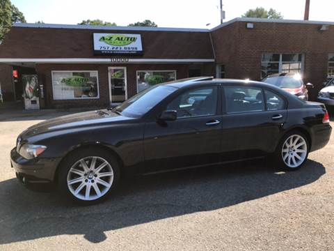 2008 BMW 7 Series for sale in Newport News, VA