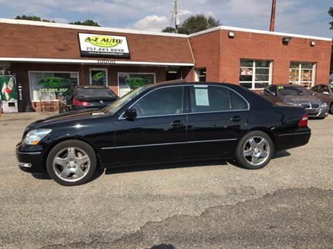 2006 Lexus LS 430 for sale in Newport News, VA