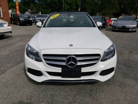 2017 Mercedes-Benz C-Class for sale at A-Z Auto Sales in Newport News VA