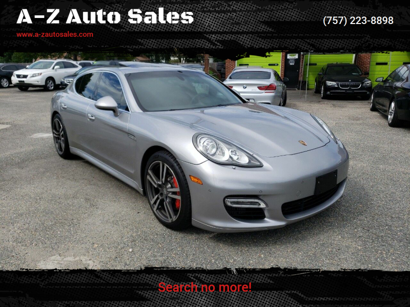 2010 Porsche Panamera for sale at A-Z Auto Sales in Newport News VA