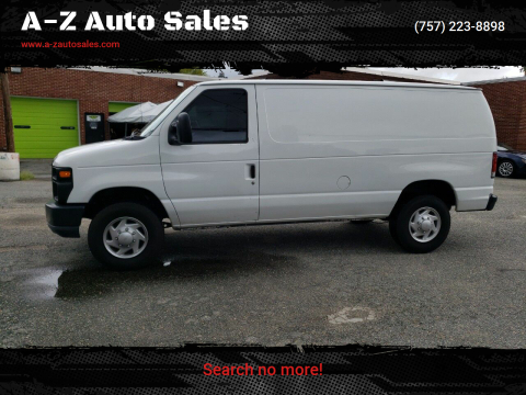 2010 Ford E-Series Cargo for sale at A-Z Auto Sales in Newport News VA