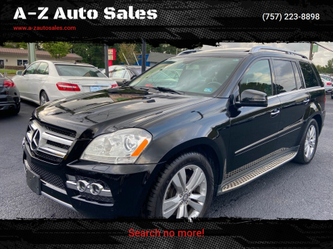 2011 Mercedes-Benz GL-Class for sale at A-Z Auto Sales in Newport News VA