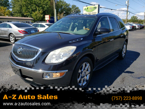 2009 Buick Enclave for sale at A-Z Auto Sales in Newport News VA