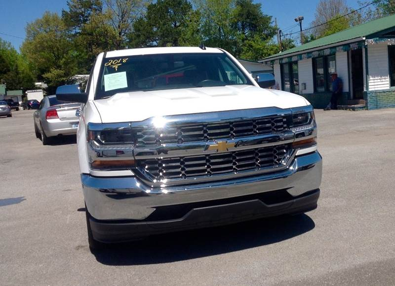 2018 Chevrolet Silverado 1500 for sale at Morristown Auto Sales in Morristown TN