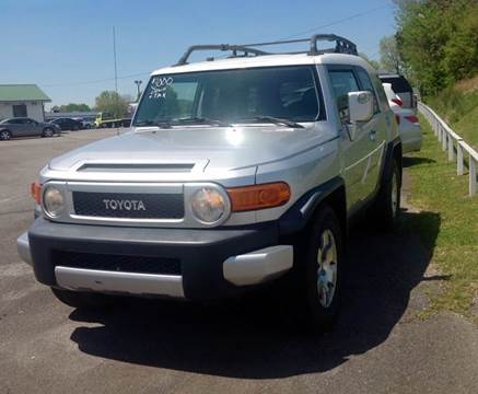 2007 Toyota FJ Cruiser for sale at Morristown Auto Sales in Morristown TN