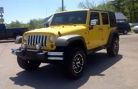 2008 Jeep Wrangler Unlimited for sale at Morristown Auto Sales in Morristown TN