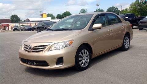 2013 Toyota Corolla for sale at Morristown Auto Sales in Morristown TN