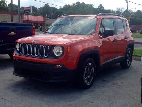 2017 Jeep Renegade for sale at Morristown Auto Sales in Morristown TN