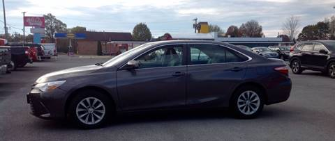 2015 Toyota Camry for sale at Morristown Auto Sales in Morristown TN
