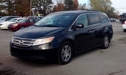 2012 Honda Odyssey for sale at Morristown Auto Sales in Morristown TN