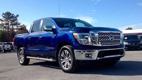 2019 Nissan Titan for sale at Morristown Auto Sales in Morristown TN