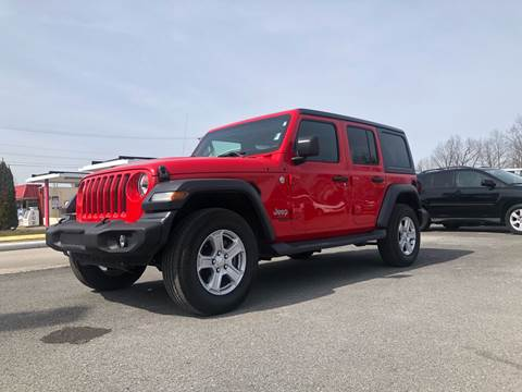 2018 Jeep Wrangler Unlimited for sale at Morristown Auto Sales in Morristown TN