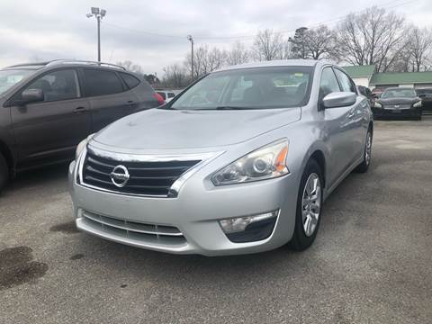 2015 Nissan Altima for sale at Morristown Auto Sales in Morristown TN