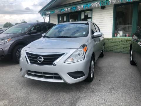 2017 Nissan Versa for sale at Morristown Auto Sales in Morristown TN