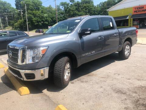 2018 Nissan Titan for sale at Morristown Auto Sales in Morristown TN