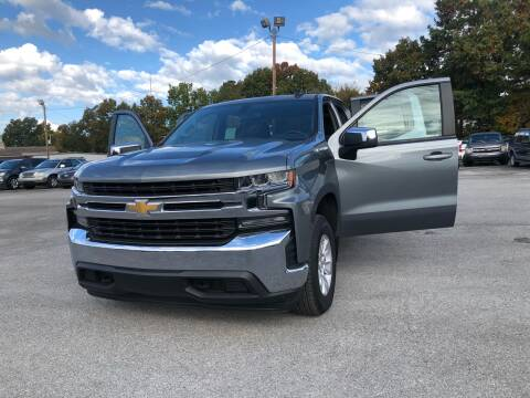 2019 Chevrolet Silverado 1500 for sale at Morristown Auto Sales in Morristown TN