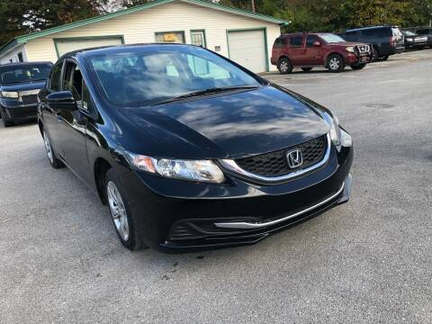 2015 Honda Civic for sale at Morristown Auto Sales in Morristown TN
