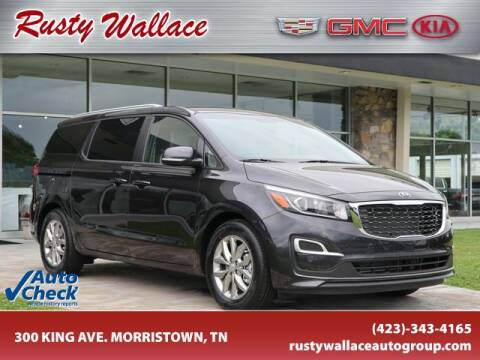 2020 Kia Sedona for sale at RUSTY WALLACE CADILLAC GMC KIA in Morristown TN